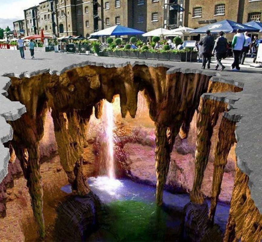 élethű 3D-s utcai rajzok, - krónika